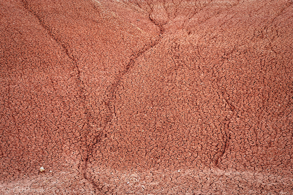 John Day Fossel Beds National Monument Painted Hills reticulated clay, OR, USA
