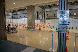 MPC Tokyo, Covid 19 testing center<br /> Olympic Games Tokyo 2021<br /> © Hippo Foto - Dirk Caremans<br /> 18/07/2021