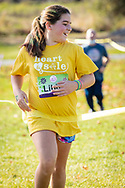 Girls from Sanfordville Elementary School and Warwick Valley Middle School in the Girls on the Run Hudson Valley program ran 3.1 miles at Pine Island Park on Nov. 7, 2020. Girls on the Run is a national program with a mission of helping girls to be joyful, healthy and confident using an experience-based curriculum which creatively integrates running.
