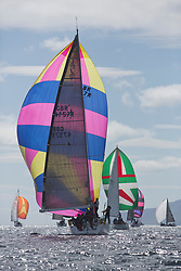 Clyde Cruising Club's Scottish Series 2019<br /> 24th-27th May, Tarbert, Loch Fyne, Scotland<br /> <br /> Day 1 - Perfect conditions to start the 45th Series.<br /> <br /> GBR4757R, Moonstruck Too, Gordon Lawson, Port Edgar, J122<br /> <br /> Credit: Marc Turner / CCC
