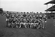 13/09/1964<br /> 09/13/1964<br /> 13 September 1964<br /> Junior Hurling Final: Kerry v Down at Croke Park, Dublin. <br /> Kerry team.
