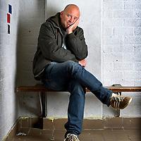 Nederland, Haarlem, 06-10-2011.<br /> Edwin Struis, sport journalist.<br /> Foto : Klaas Jan van der Weij