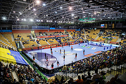 Arena prior to the handball match between National teams of Slovenia and Netherlands in Qualifications of 2020 Men's EHF EURO, on April 14, 2019, in Arena Zlatorog, Celje, Slovenia. Photo by Vid Ponikvar / Sportida