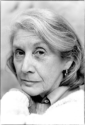 March 20, 2016 - Paris, France - Nadine Gordimer (Credit Image: © Ulf Andersen/Aurimages via ZUMA Press)