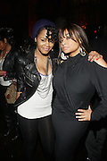 l to r: Teyana Taylor and Raven Simone at Ne-Yo's 30th Birthday Party held at Cipariani's on 42 Street on October 17, 2009 in New York City