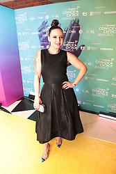 08/09/2018<br /> Comedian Nina Hastie is seen on the Yellow carpet arrivals at the 2018 Savanna Comics Choice Awards, LYRIC Theatre, Goldreef City, Johannesburg.<br /> Picture: Nhlanhla Phillips/African News Agency/ANA