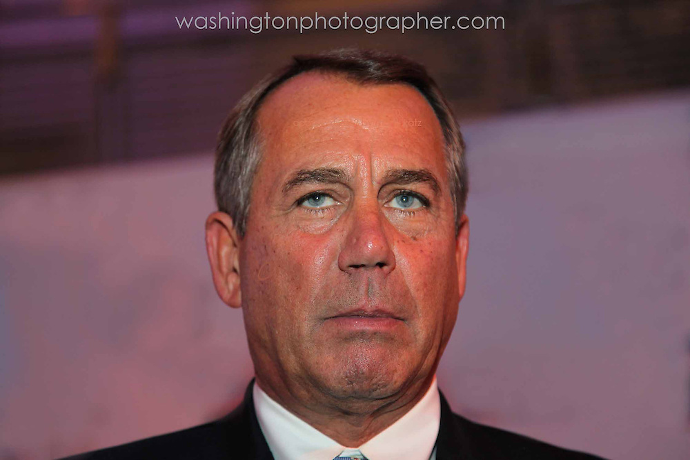 DC portrait photography: House Speaker John Boehner headshot. Copyright 2012 by DC photographer Marty Katz. All rights reserved. Call  for clearance prior to use. http://washingtonphotographer.com
