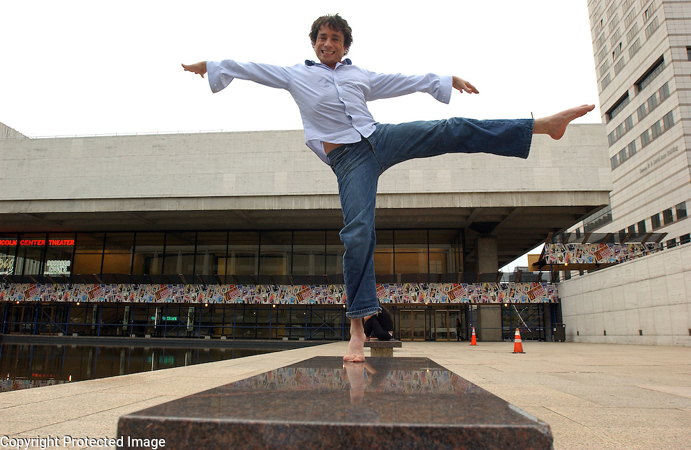 Actor Chris Kattan is seen in Lincoln Center in Manhattan, NY. He is making his Broadway debut in a new play called The Frogs. 7/7/2004 Photo by Jennifer S. Altman