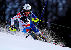 04.01.2013, Crveni Spust, Zagreb, AUT, FIS Ski Alpin Weltcup, Slalom, Damen, 1. Lauf, im Bild Wendy Holdener (SUI) // Wendy Holdener of Switzerland in action during 1st Run of the ladies Slalom of the FIS ski alpine world cup at Crveni Spust course in Zagreb, Croatia on 2013/01/04. EXPA Pictures © 2013, PhotoCredit: EXPA/ Pixsell/ ATTENTION - for AUT, SLO, SUI, ITA, FRA only *****
