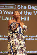 BROOKLYN, NEW YORK- AUGUST 9: Writer Joan Morgan attends the book release for ' She Begat This: 20 Years of The Miseducation of Lauryn Hill' by Joan Morgan which examines the the artist's musical and cultural legacy held August 9, 2018 at the Brooklyn Museum.  (Photo by Terrence Jennings/terrencejennings.com)