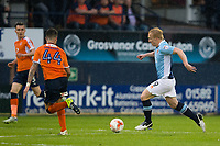 Blackpool's Mark Cullen in action during todays match  <br /> <br /> Photographer Craig Mercer/CameraSport<br /> <br /> The EFL Sky Bet League Two Play-Off Semi Final Second Leg - Luton Town v Blackpool - Thursday 18th May 2017 - Kenilworth Road - Luton<br /> <br /> World Copyright © 2017 CameraSport. All rights reserved. 43 Linden Ave. Countesthorpe. Leicester. England. LE8 5PG - Tel: +44 (0) 116 277 4147 - admin@camerasport.com - www.camerasport.com
