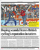 March 13, 2021 (UK): Front-page: Today's Newspapers In United Kingdom