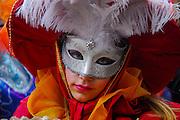 Venice Carnival Mask in red