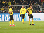 Axel Witsel of Borussia Dortmund disappointed during the Champions League round of 16, leg 2 of 2 match between Borussia Dortmund and Tottenham Hotspur at Signal Iduna Park, Dortmund, Germany on 5 March 2019.