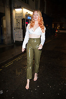 Victoria Clay at the Club 64 VIP launch at Salon 64 Soho London. 27.11.19