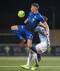 Stephan Petersen (HB Køge) under kampen i 1. Division mellem HB Køge og FC Helsingør den 4. december 2020 på Capelli Sport Stadion i Køge (Foto: Claus Birch).