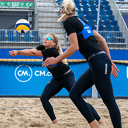 / in action during CEV Continental Cup Final Day 1 - Women on June 23, 2021 in The Hague