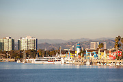 Marina Del Rey Harbor In Los Angeles