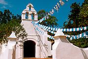 MEXICO, VERACRUZ, LA ANTIGUA 1st Christian church founded in 1523