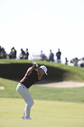 October 20, 2018 - Jeju, SOUTH KOREA - Oct 20, 2018-Jeju, South Korea-BROOKS KOEPKA of USA action on the 8th green during the PGA Golf CJ Cup Nine Bridges Round 3 at Nine Bridges Golf Club in Jeju, South Korea. (Credit Image: © Ryu Seung-Il/ZUMA Wire)