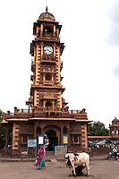 Ghanta Ghar Jodhpur Clocktower was built by Shri Sardar Singh of Jodhpur.  One of the icon landmarks of Jodhpur that also serves for telling the time.
