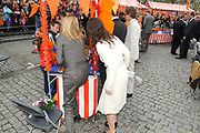 Koninginnedag 2010 . De Koninklijke familie in het zeeuwse  Middelburg. / Queensday 2010. De Royal Family in Middelburg.<br />