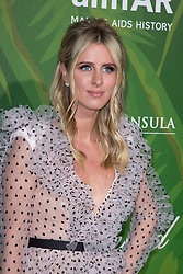 Nicky Hilton attends amfAR Paris Dinner 2018 at The Peninsula Hotel during Paris Haute Couture Fall Winter 2018/2019 in Paris, France on July 04, 2018. Photo by Nasser Berzane/ABACAPRESS.COM