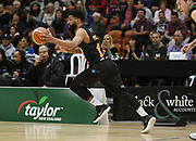 Taylor Hawks Dion Prewster in action in the Sal's Pizza NBL Round 8 match, Hawkes Bay Hawks vs Auckland Rangers, Pettigrew Green Arena, Napier, Saturday, June 16, 2018. Copyright photo: Kerry Marshall / www.photosport.nz