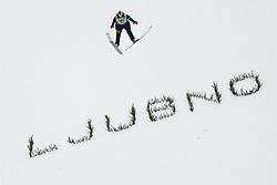 February 8, 2019 - Sofia Tikhonova of Russia on first competition day of the FIS Ski Jumping World Cup Ladies Ljubno on February 8, 2019 in Ljubno, Slovenia. (Credit Image: © Rok Rakun/Pacific Press via ZUMA Wire)