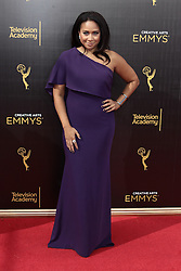 .Tracie Thoms  attends  2016 Creative Arts Emmy Awards - Day 2 at  Microsoft Theater on September 11th, 2016  in Los Angeles, California.Photo:Tony Lowe/Globephotos
