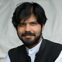 EDINBURGH, SCOTLAND - AUGUST27. Indian author Pankaj Mishra poses during a portrait session held at Edinburgh Book Festival on August 27, 2006  in Edinburgh, Scotland. (Photo by Marco Secchi/Getty Images)