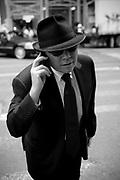 Man in the street,  Manhattan. New York City, 23 june 2010. Christian Mantuano / OneShot