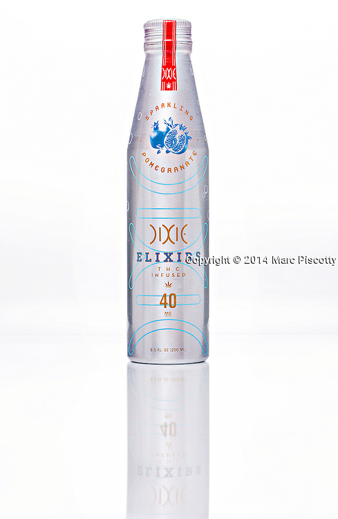 SHOT 3/4/14 6:44:59 PM - Dixie Elixirs full product line photography. Dixie is the trusted source for innovative, safe, effective and delicious cannabis products. We are proud to provide our customers with products infused with triple lab tested and CO2 extracted THC. From balms and bath soaks to tinctures and truffles, each of our products offers premium, consistent and reliable results you trust.(Photo by Marc Piscotty / © 2014)