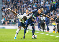 Football - 2019 / 2020 Premier League - Tottenham Hotspur vs. Watford<br /> <br /> Serge Aurier (Tottenham FC)  competes with Roberto Pereyra (Watford FC)  for the ball at The Tottenham Hotspur Stadium.<br /> <br /> COLORSPORT/DANIEL BEARHAM