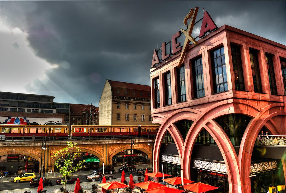 Alexa shopping center on the Alexanderplatz in Berlin