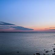 Today's crisp Winter Sunrise  at Narragansett Town Beach, Narragansett, RI,  February  4, 2013. Photo: Tripp Burman