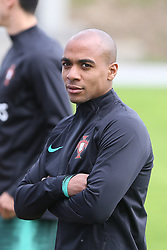 March 20, 2018 - Lisbon, Lisbon, Portugal - Portugal midfielder Joao Mario during training session at Cidade do Futebol training camp in Oeiras, outskirts of Lisbon, on March 20, 2018 ahead of the friendly football match in Zurich against Egypt on March 23. (Credit Image: © Dpi/NurPhoto via ZUMA Press)