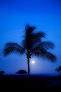Sunset, Kekaha Kai State Park, Kona, Island of Hawaii
