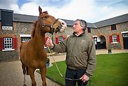 Horse trainer Luca Cumani