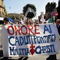 Onore ai caduti pontifici
