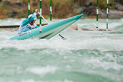 Luka BOZIC (SLO) during Canoe Semi Finals at World Cup Tacen, 18 October 2020, Tacen, Ljubljana Slovenia. Photo by Grega Valancic / Sportida