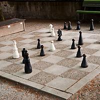 Checkmate, Chess in the Park, Zurich Switzerland