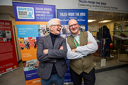 Official opening of the Tales From The Ring exhibition at the University of Stirling.