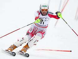 13.03.2010, Goudyberg Herren, Garmisch Partenkirchen, GER, FIS Worldcup Alpin Ski, Garmisch, Men Slalom, im Bild  Pranger Manfred, ( AUT, #11 ), Ski Voelkl, EXPA Pictures © 2010, PhotoCredit: EXPA/ J. Groder / SPORTIDA PHOTO AGENCY