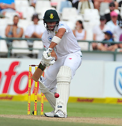 Cape Town-180324 AidaN Markram  back at the crease for South Africa's second innings againbst  Australian on day 3 of the Sunfoil cricket test at Newlands cricket stadium. .Photograph:Phando Jikelo/African News Agency/ANA
