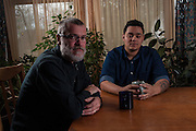 COLUMBIA, MD -- 12/20/14 -- Mark Johnson-Lewis, 48, and his son, Tyler Lewis, 22, talk about the complexity of being a biracial family..…by André Chung #_AC23028