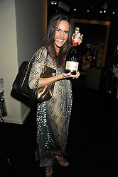 LOUISE ROE at the opening of the Atelier Moet pop-up boutique, 70 New Bond Street, London on 3rd December 2008.