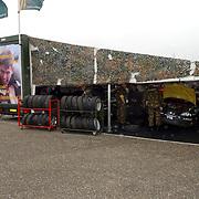 NLD/Zandvoort/20050610 - Training McGregor Porsche GT3 Cup Challenge, Koninklijke landmacht team, trailer