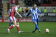 Brighton & Hove Albion midfielder Jiri Skalak (8) passes the ball during the EFL Sky Bet Championship match between Rotherham United and Brighton and Hove Albion at the AESSEAL New York Stadium, Rotherham, England on 7 March 2017. Photo by Mark P Doherty.