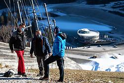 Koblar, Janez Pergarec - Ic and Jelko Gros at preparation of Planica Hill 2 weeks before FIS Ski Flying World Championships 2020, on November 25, 2020 in Planica, Slovenia. Photo by Matic Klansek Velej / Sportida